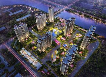 郑州市金科城二期散热器项目